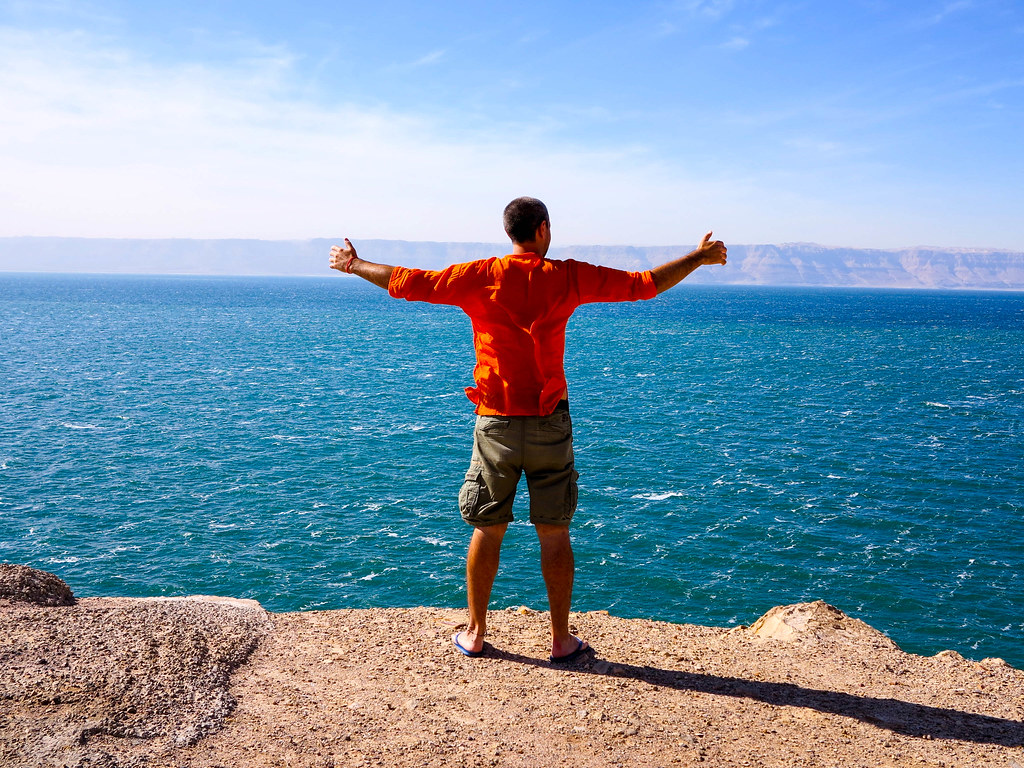 Llegada al Mar Muerto