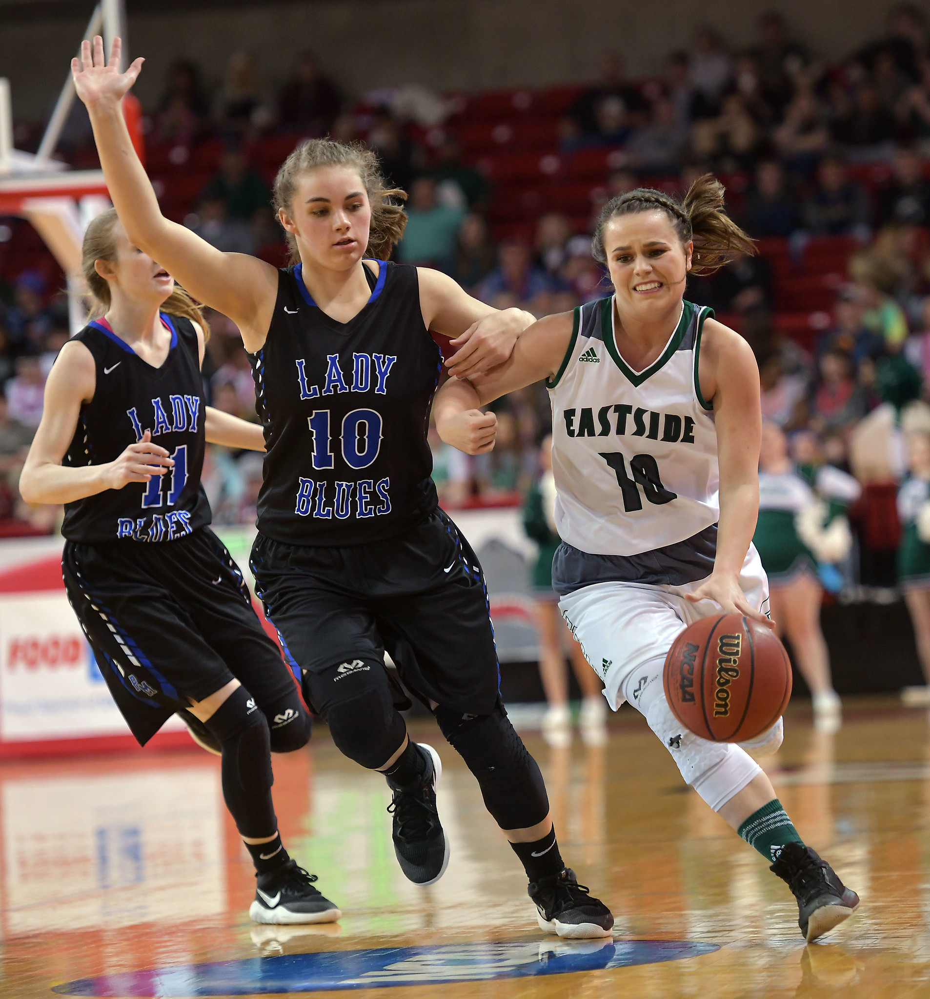 Eastside vs Parry McCluer Girls Basketball