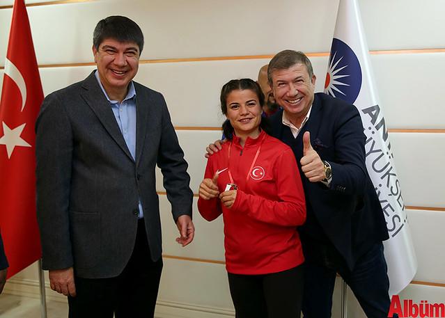 İşitme Engelli Atletler Başkan Türel'i ziyaret etti -3