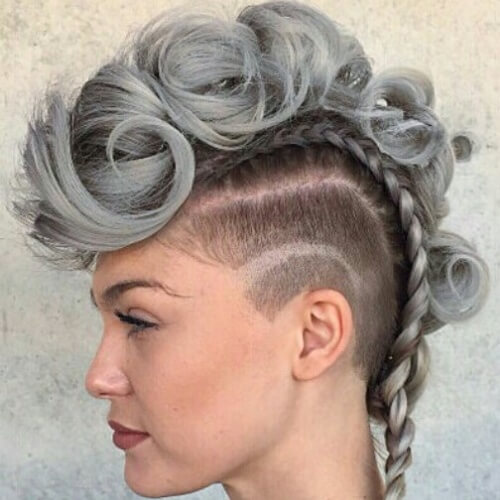 mowhawk hair styles 55 amazing braided mohawk hairstyles ideas nails c 3899