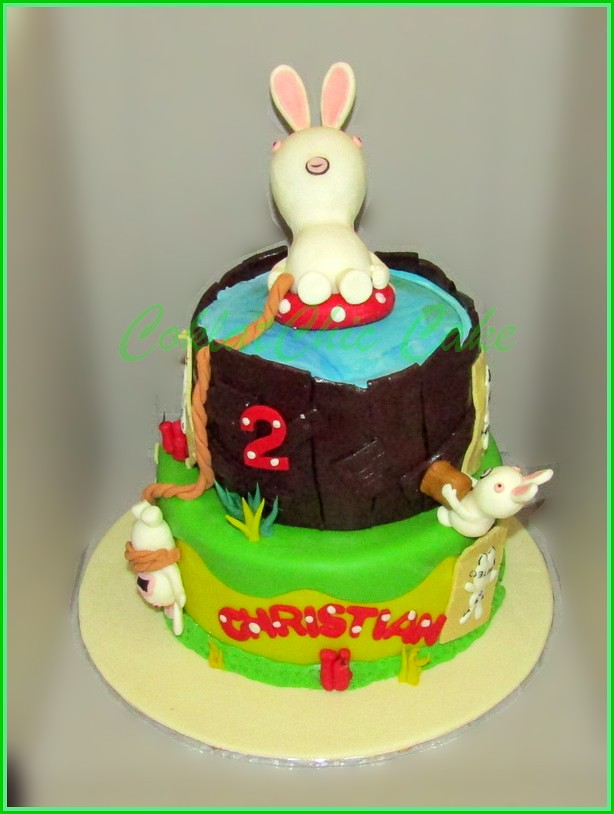 Cake Rabbit Invassion CHRISTIAN 15 cm + 12 cm