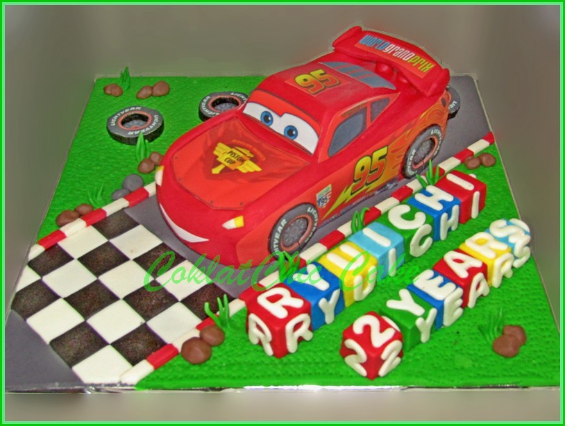 Cake Lightning McQueen Cars RYUICHI 18 cm