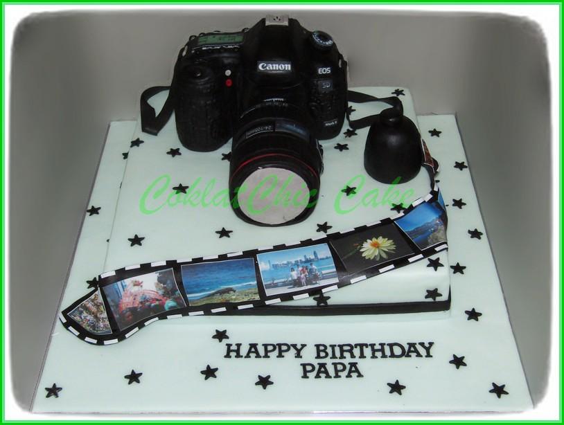 cake canon eos 5D PAPA 30 cm