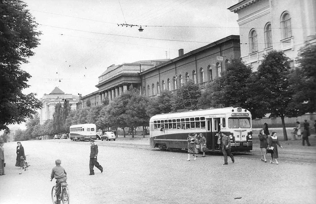 Улица Владимирская, 1952 год