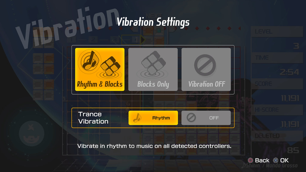 Lumines Remastered: Trance Vibration