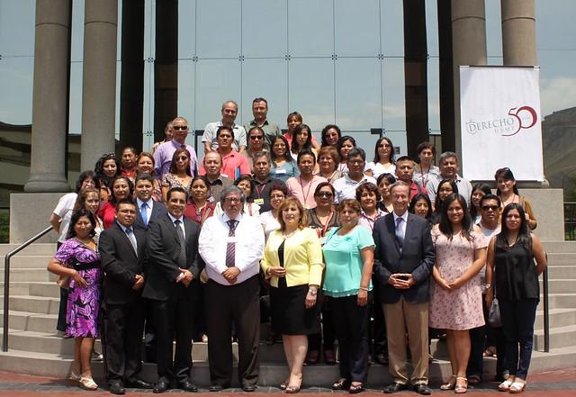 Docentes de los colegios de La Molina participaron en Curso – Taller de la  Facultad de Derecho de la USMP