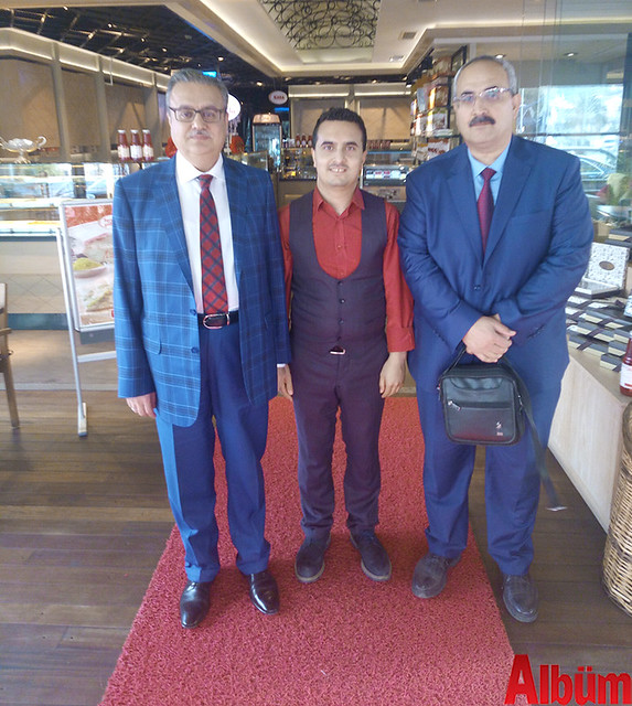Mersin Valisi Ali İhsan Su, Faruk Güllüoğlu Baklavaları Alanya İşletme Müdürü İbrahim Alagöz