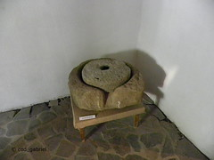 Millstone exhibited in Avram Iancu memorial house