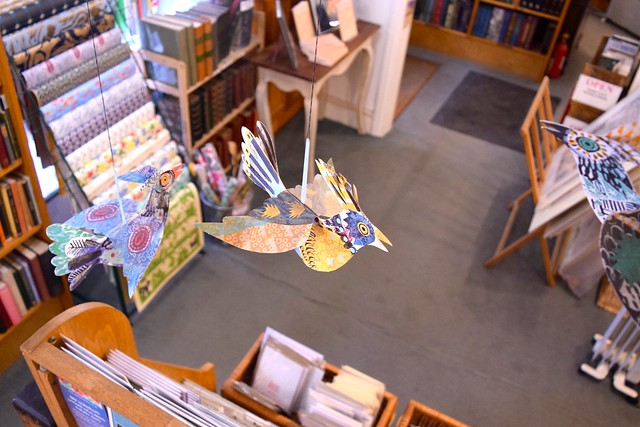 Paper Birds at The Chaucer Bookshop, Canterbury
