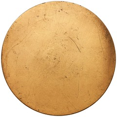 Jean Harlow medal by Adam Peitz reverse