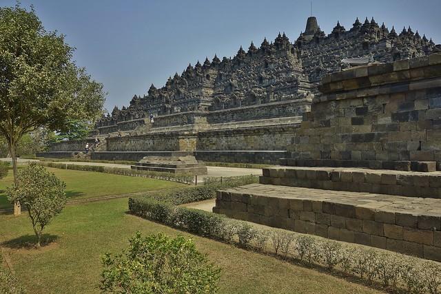 INDONESIEN,Java, Borobudur - buddhistische Tempelanlage,  7232/9742
