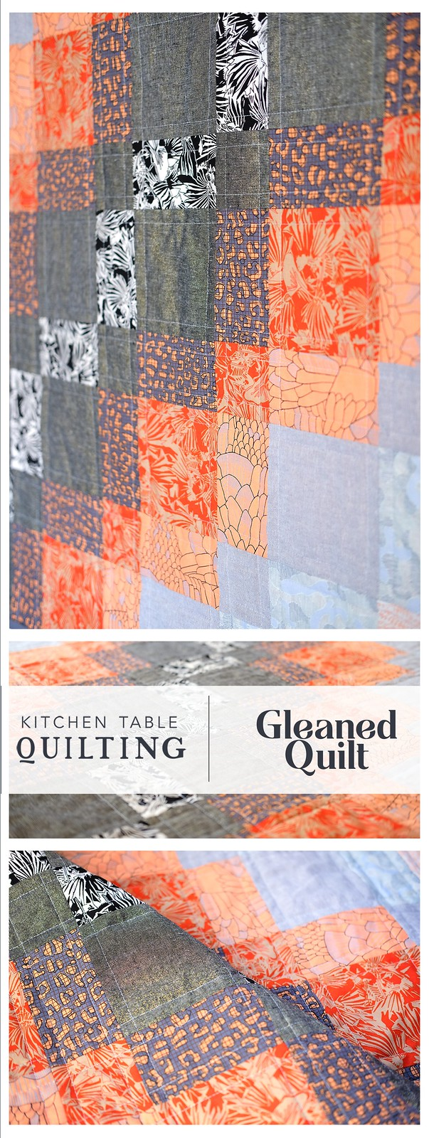 Gleaned Baby Quilt - Kitchen Table Quilting