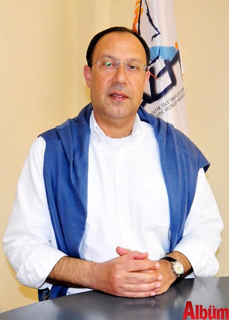 Alanya Turistik İşletmeciler Derneği Başkanı Burhan Sili
