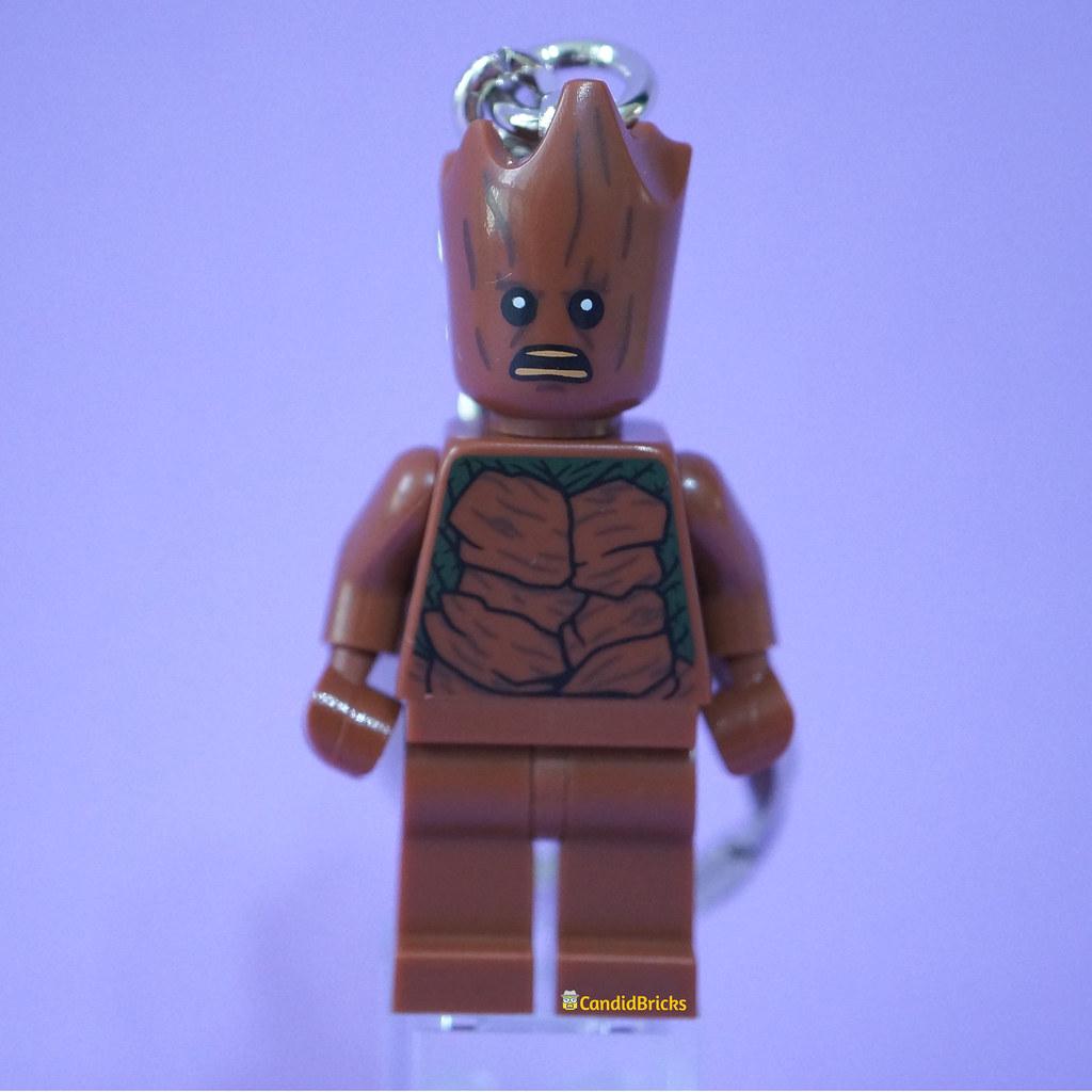 Teen Groot Keychain Front