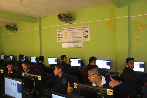 Guatemala Central America education project nonprofit charity technology computers