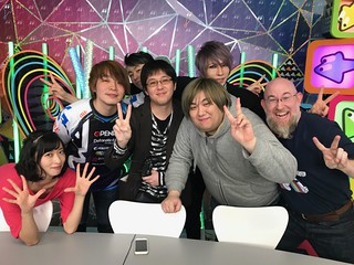 AbemaTV Agenai! Friday group shot