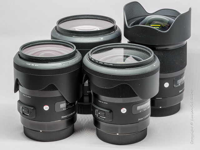 Sigma Art Lenses.