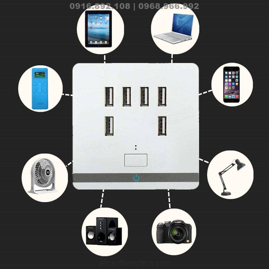 Sạc được mọi thiết bị qua cổng  USB