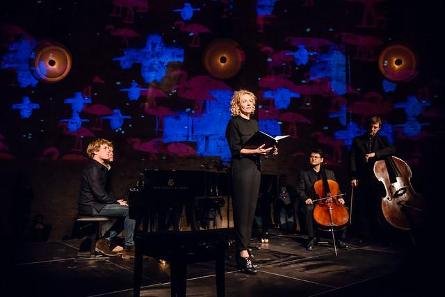 Yellow Lounge mit Katja Riemann und Lucas & Arthur Jussen