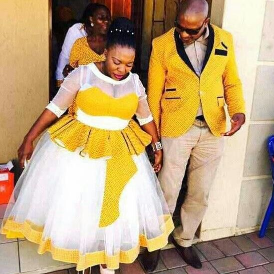 Xhosa Dresses For Bride - Traditional South African Wedding - Nails C