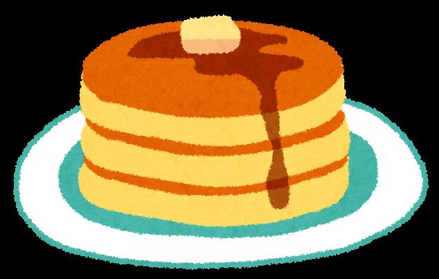 手作りパンケーキ (1)