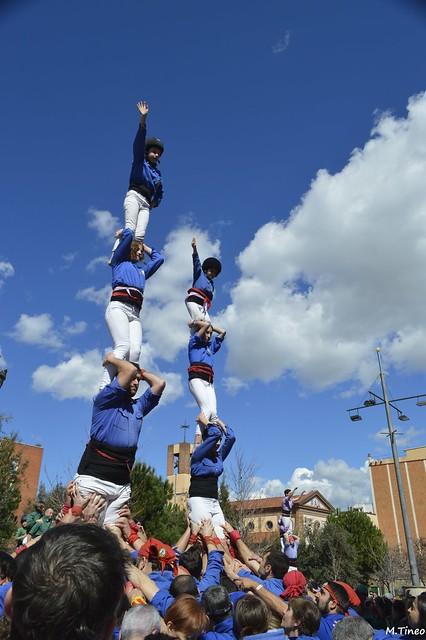 Castellers d'Esplugues a Barberà del Vallès