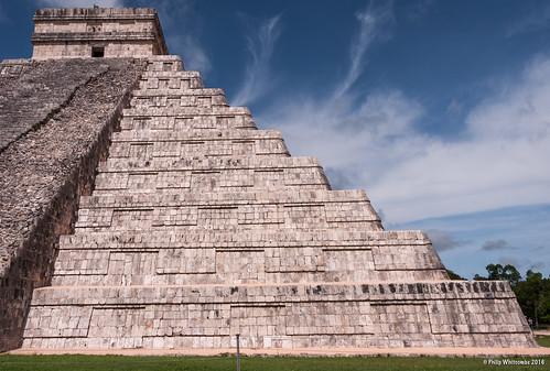 El Castillo at Chichen Itza in Yucatán, Mexico.