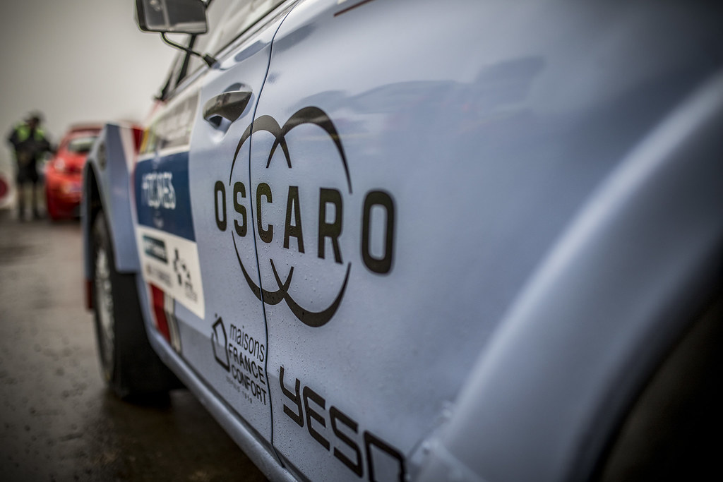 OSCARO  during the 2018 European Rally Championship ERC Azores rally,  from March 22 to 24, at Ponta Delgada Portugal - Photo Gregory Lenormand / DPPI