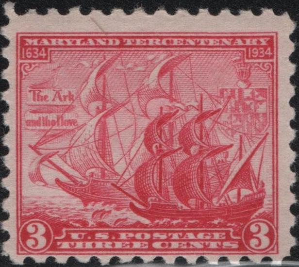 United States - Scott #736 (1934)