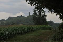 20120919 22 065 Jakobus Hügel Wald Feld Burgruine