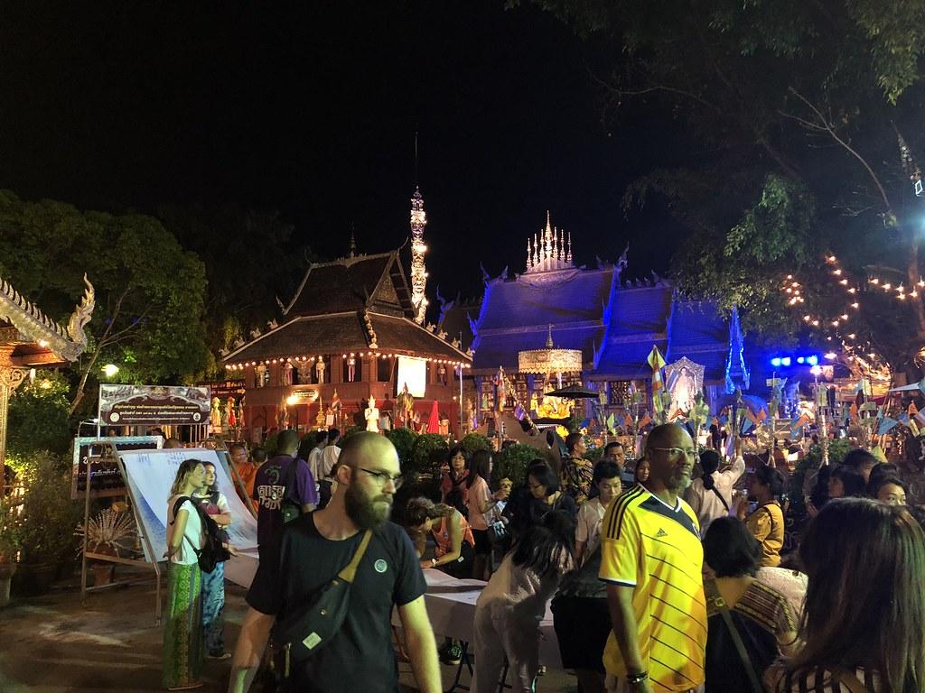 Walking Streets Saturday Night Market in Chiang Mai