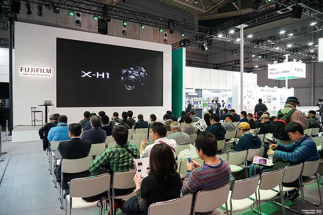 【CP+ 2018】Fujifilm X-H1 | 09