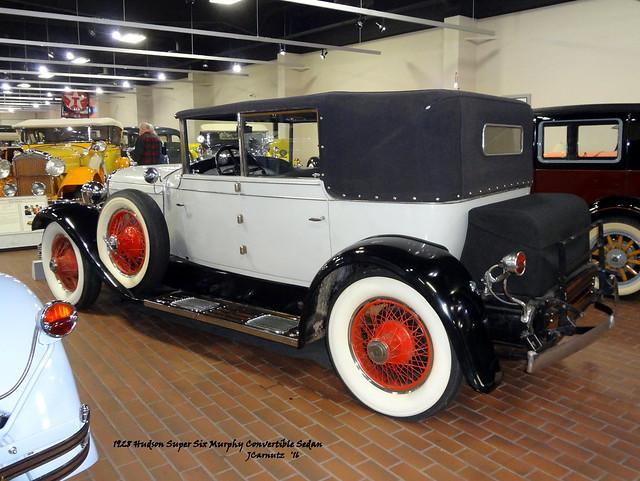 1928 Hudson Super Six Murphy Convertible Sedan
