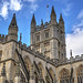 Bath Abbey by Baz Richardson