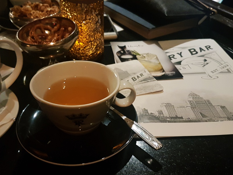 Library Bar tea
