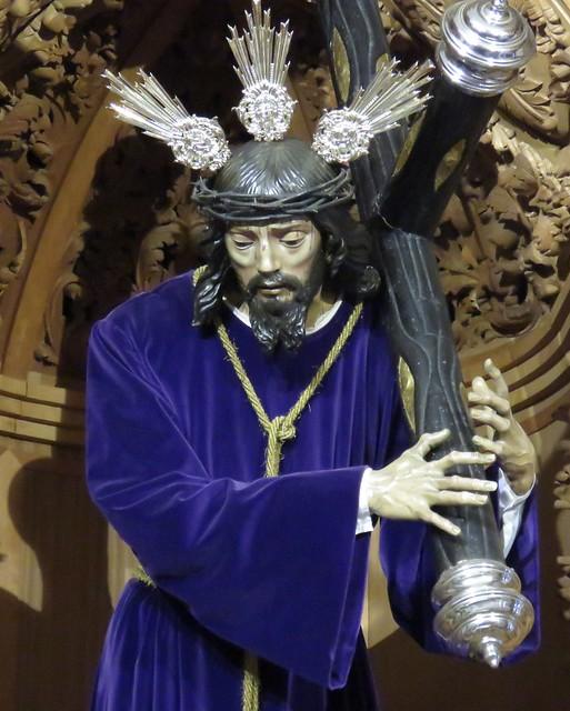 Tradicional y Devota Cofradía de Nazarenos y Muy Antigua Hermandad de Nº Padre Jesús Nazareno, Nª Sª de la Amargura, San Juan Evangelista y Santa Ángela de la Cruz.