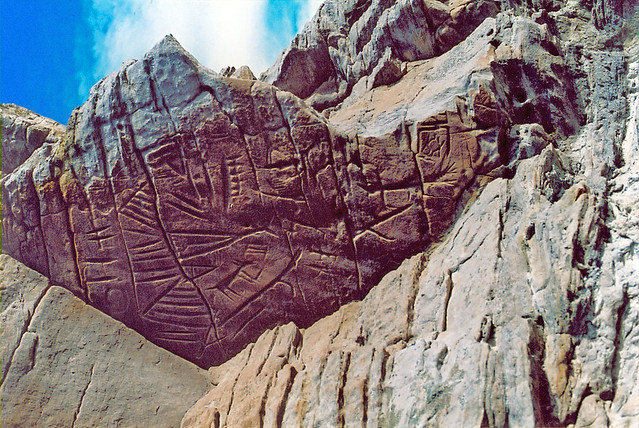 Cedar Canyon Petroglyph