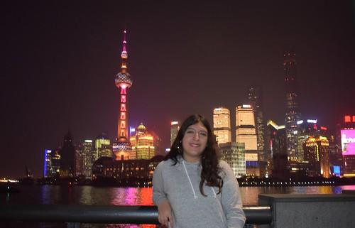 Elizabeth Gonzales '19 on CIEE Shanghai approved program fall 2017 2
