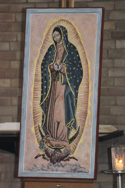 Blessing of Our Lady of Guadalupe Icon