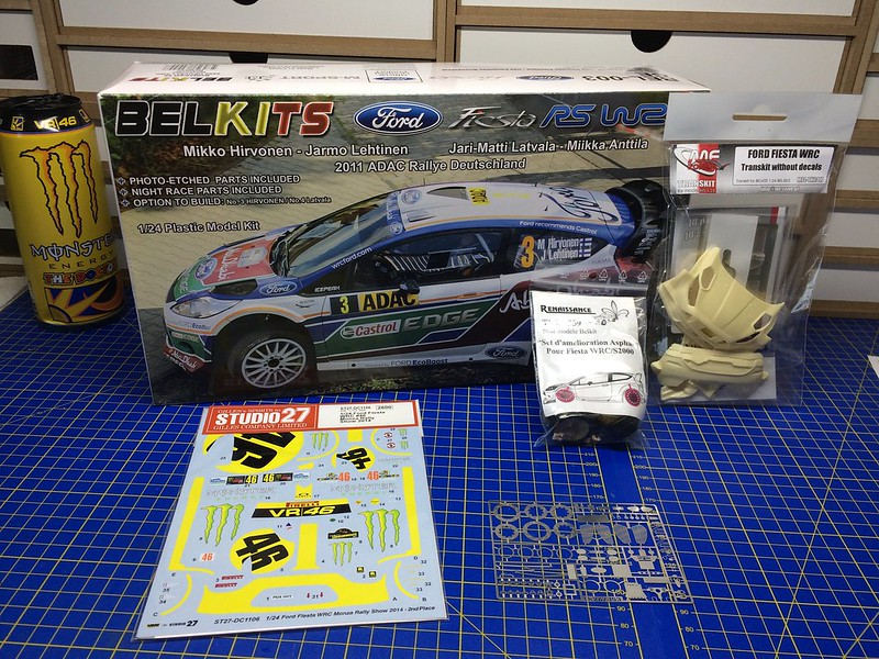 Ford Fiesta RS WRC #46 V.Rossi - C.Cassina Monza Rally Show 2014 ...