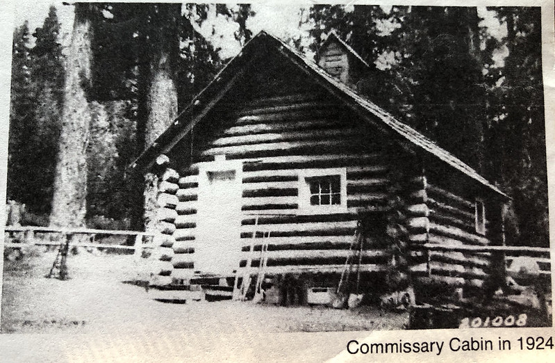 Commissary Cabin in 1924