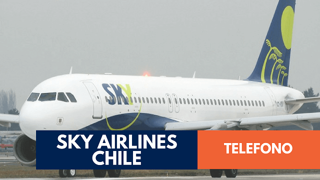 Telefono Sky Airlines Chile