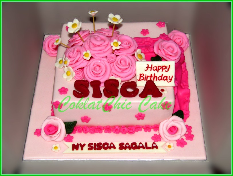 Cake Flowers SISCA 15 cm