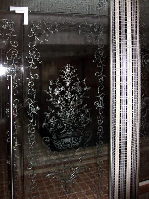 umělecké sklo stěna
