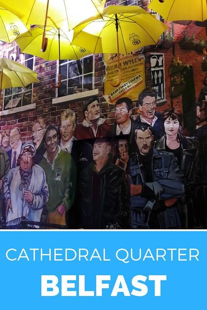 Belfast: ontdek het Cathedral Quarter. Bezoek het Cathedral Quarter in Belfast | Mooistestedentrips.nl