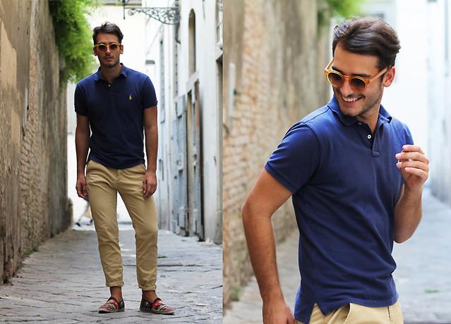 1c2972cf84eaf A camisa de gola polo pode ser usada com as mais diversas combinações  diferentes. Seja com bermuda ou calça