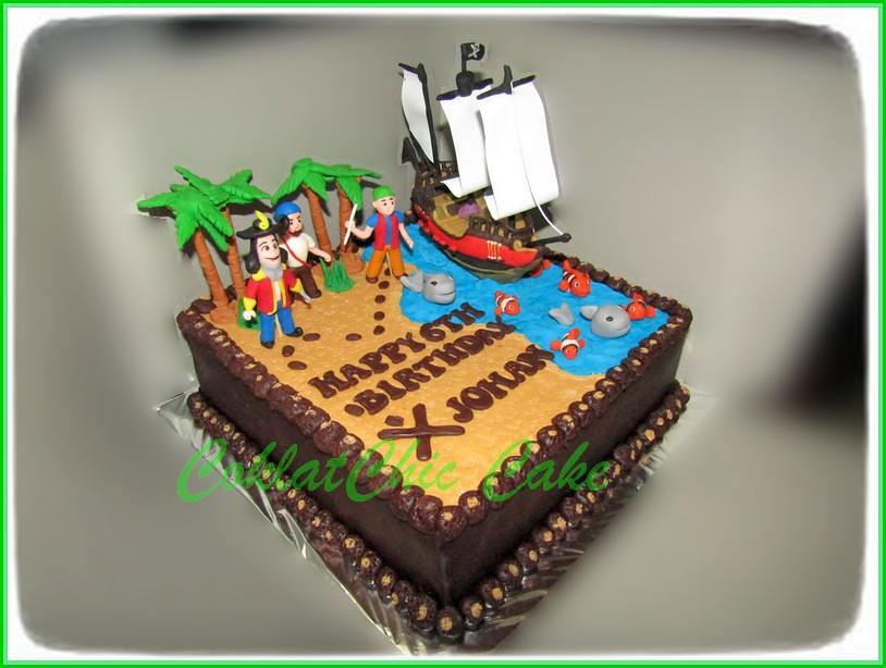 Cake Pirate JOHAN 24 cm