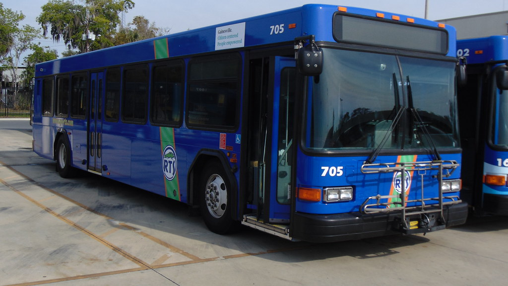 Gainesville RTS: 2007 Gillig Low Floor #705