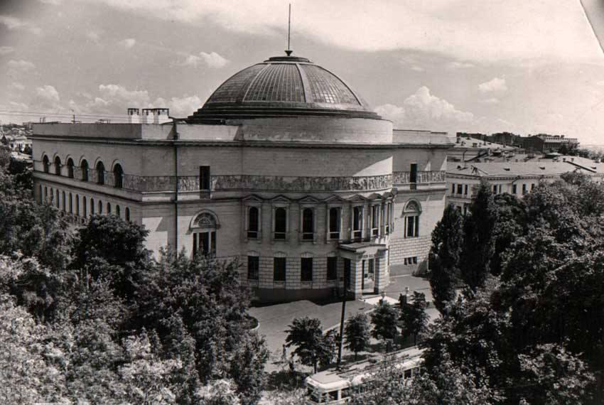 Киевский городской дом учителя (в то время Педагогический музей)