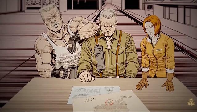 Wolfenstein 2 - Gärningar av kapten Wilkins - Nazi planer